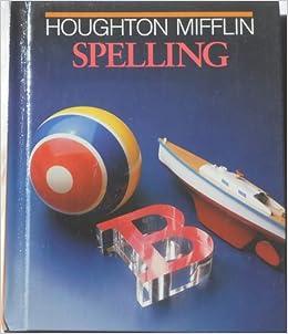 houghton mifflin spelling