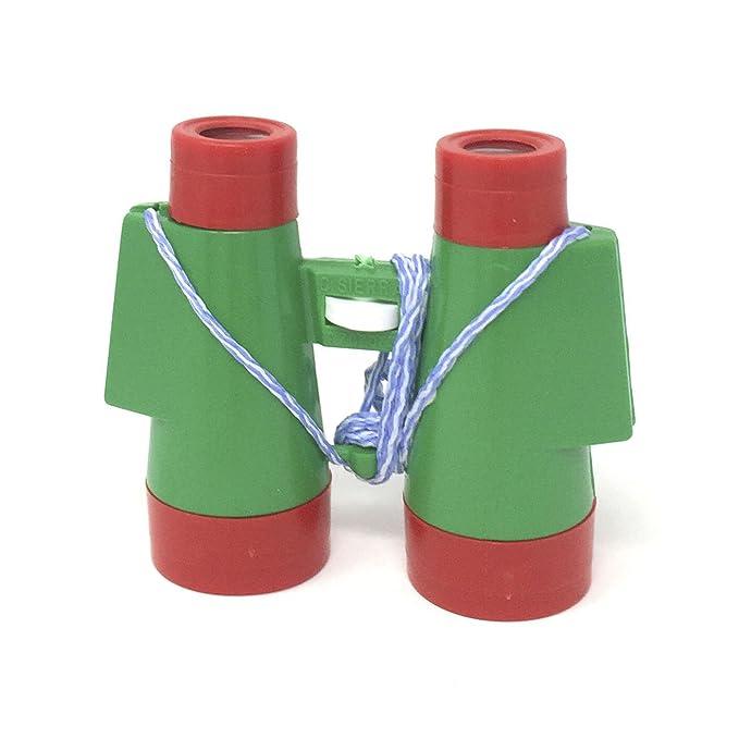 Dcolor Binocular de Plastico Color Camuflaje 10 x 30mm Juguete para Ninos