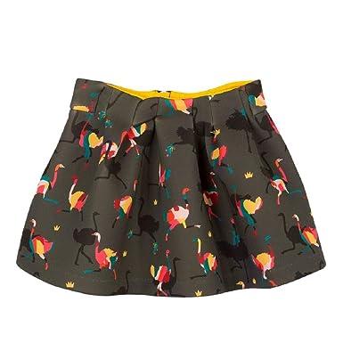 5aed46931b8e79 Catimini - Jupe - Fille Multicolore Multicolore: Amazon.fr ...
