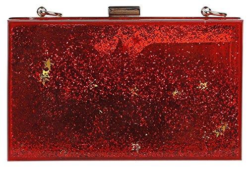 oro Wonder rojo rojo oro Bolso Logo Woman YYgwqT7A