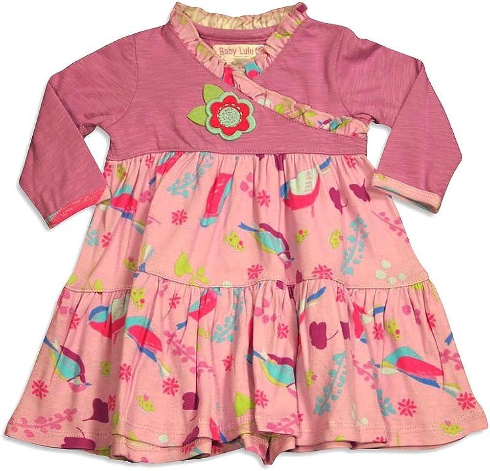 Little Girls Long Sleeve Ava Mushroom Dress Baby Lulu