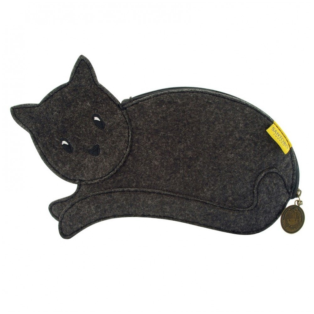 Gato negro - Lápiz y estuche de Santoro: Amazon.es: Electrónica