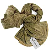 british army gear - ReFire Gear Tactical Mesh Net Camo Scarf Military Hunting Wrap Conceal Camouflage Sniper Veil 75