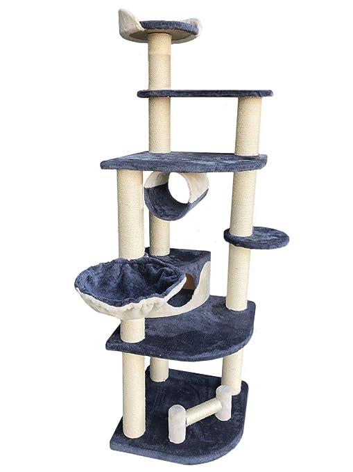 aquag Tipo XXL Rascador Árbol para Gatos Gato Parte Árbol Escalada Árbol para Gatos y –