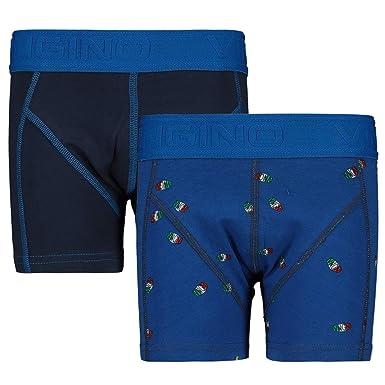 Vingino Boxershorts 2 Pack Logo Pool Blue Xs 110 116 Amazon De