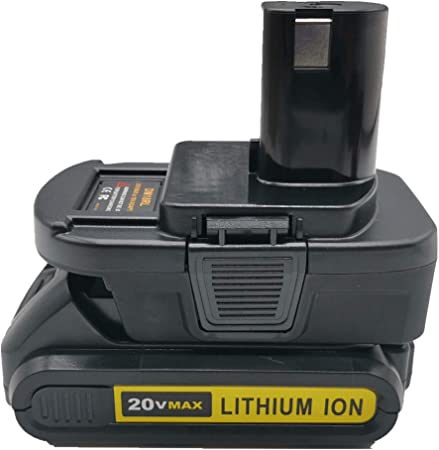Battery mount holder M18 Milwaukee DeWalt Makita Ryobi Ridgid