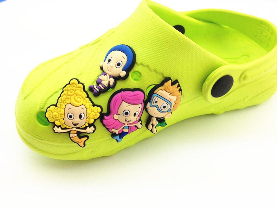 Croc Shoe Decorations Amazoncom Lot Of 100 Pcs Different Random Shoe Charms For Croc