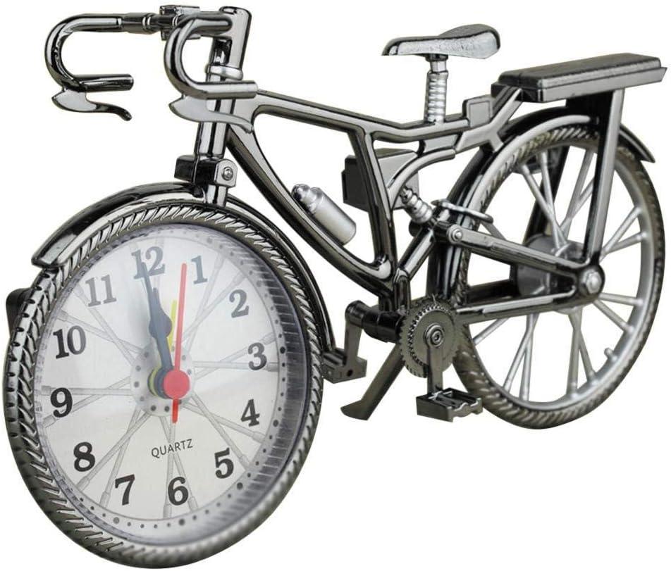 DZXYW Reloj Despertador Reloj Despertador Bicicleta decoración del ...
