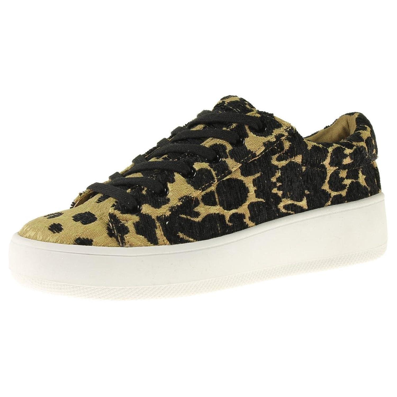 Steve Madden Womens Bertie Suede Fashion Sneaker B079ZNG9YP  レオパード 10 B(M) US
