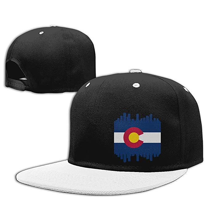 ac3a32014 Aiw Wfdnn Colorado State Flag City Hiphop Baseball Caps Adjustable ...