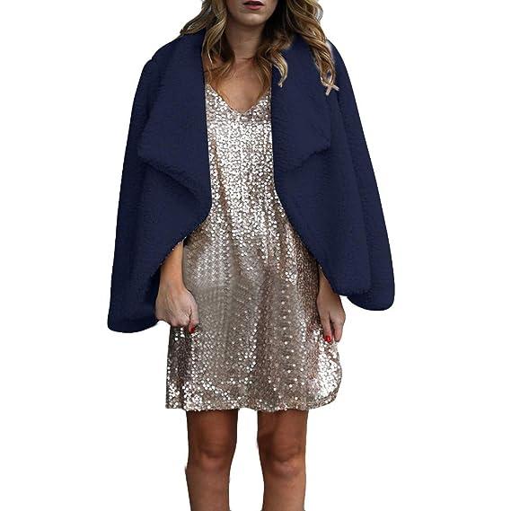 Darringls Mujer Invierno Abrigo Casual Mujer Sudadera con Capucha Cálido Chaqueta de Lana Capa Jacket Otoño Pullover: Amazon.es: Ropa y accesorios