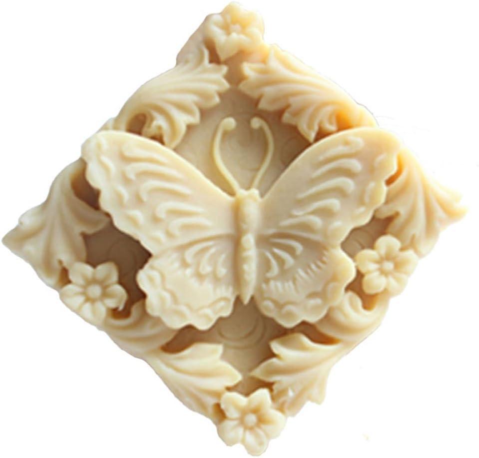 Grainrain 3D Flower White Diy Craft Art Handmade Soap Making Molds Flexible Soap Mold Silicone Soap Mould Soap