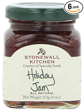 stonewall kitchen holiday jam 4 ounce pack of 6 - Stonewall Kitchen Jam
