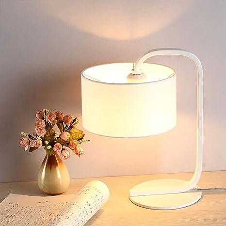FTLY Tela creativa Lámpara de mesa de tela Sencillo y simple Arte ...