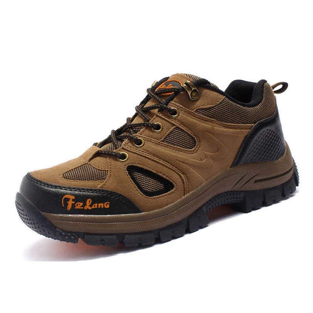 Frauen Wanderschuhe Herbst und Winter Low Rise Anti-Rutsch-Kletterschuhe Atmungsaktive Trekking Schuhe Outdoor Freizeitschuhe Paar Wanderschuhe (Farbe   C Größe   43) (Farbe   B Größe   38)