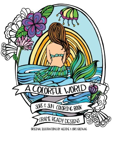 Beach Adult Coloring Books