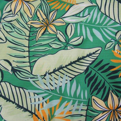 Monterey Club Mens Dry Swing Moku Print Texture Shirt #1594 (Emerald Green/Navy, 2X-Large)