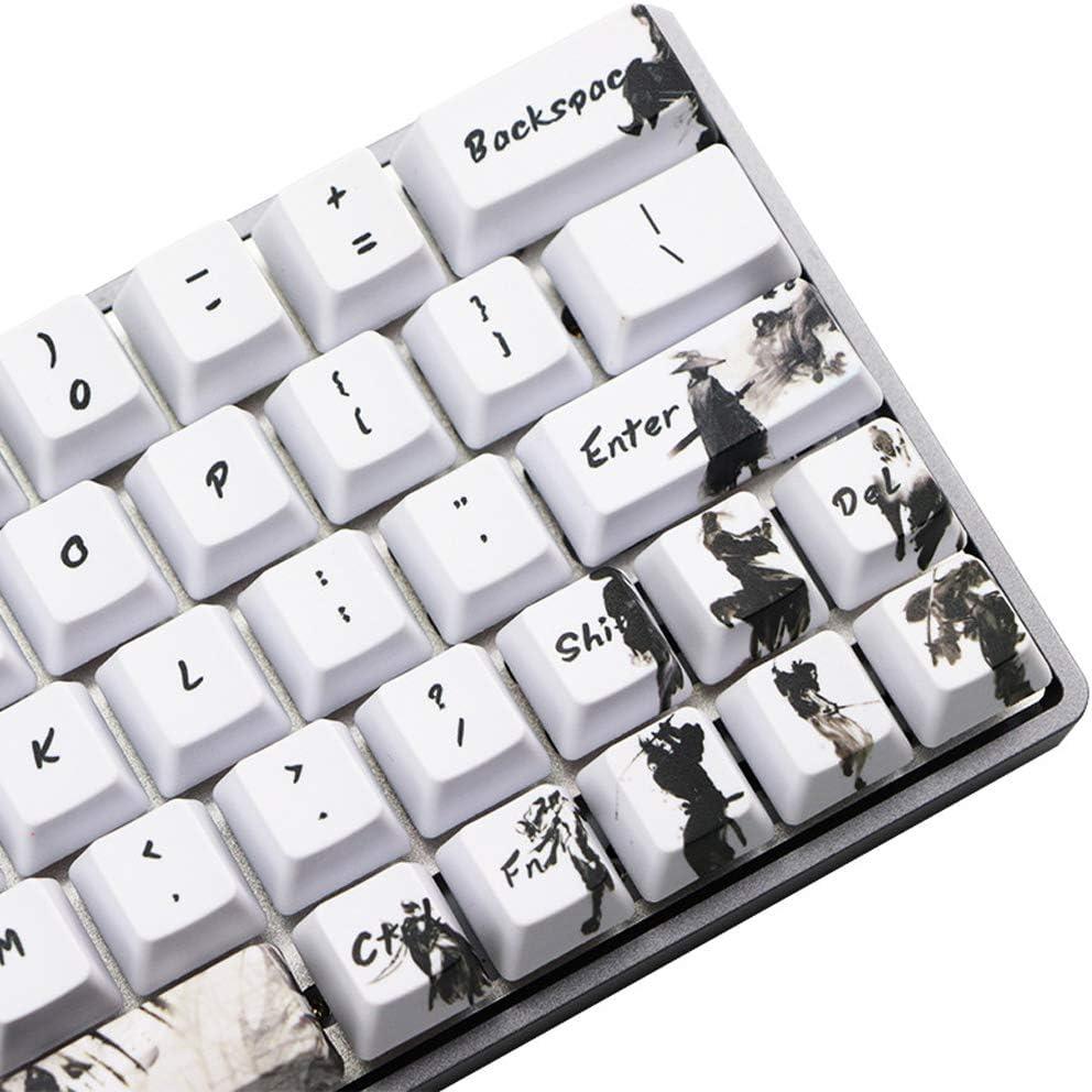 bfh 71 teclas, teclas de tinta, transferencia de teclado, 5 ...
