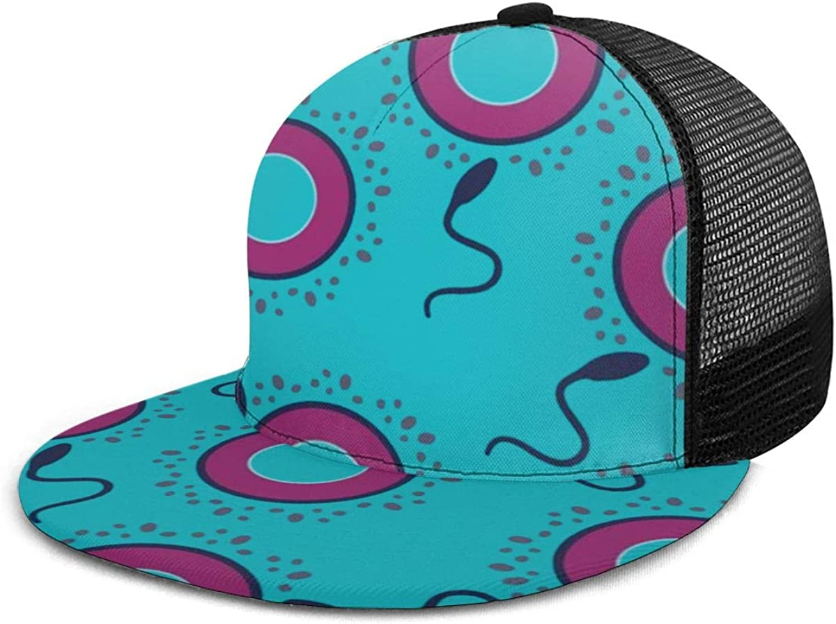 Adjustable Sun Hats Sperm E Condom Mens Washed Twill Baseball Cap