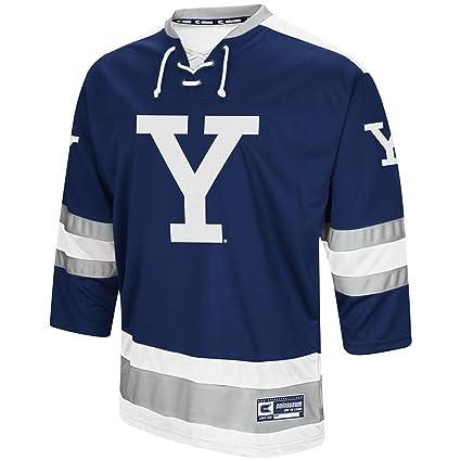 best website aab4f efc1b Amazon.com : Colosseum Mens Yale Bulldogs Hockey Sweater ...
