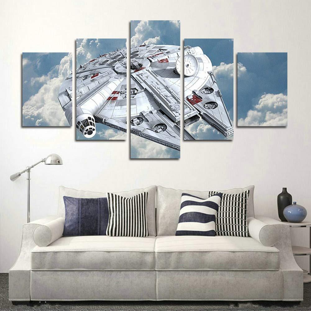Amazon.com: AtfArt - Póster de pared de 5 piezas, diseño del ...