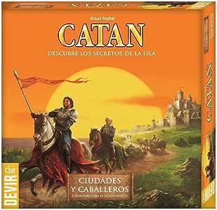 Devir - Expansión Catan: Ciudades y Caballeros, juego de mesa (BGCIUDADES): Amazon.es: Juguetes y juegos