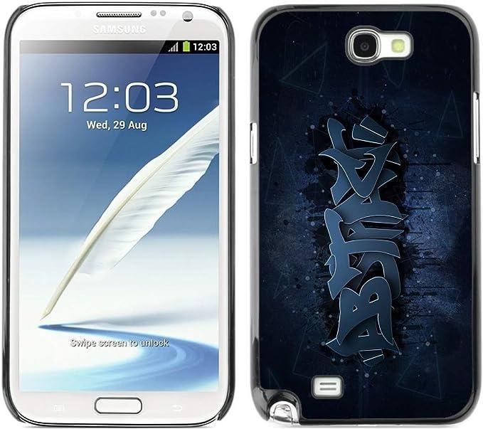 Smartphone duro funda protectora para Samsung Note 2 N7100/funda ...