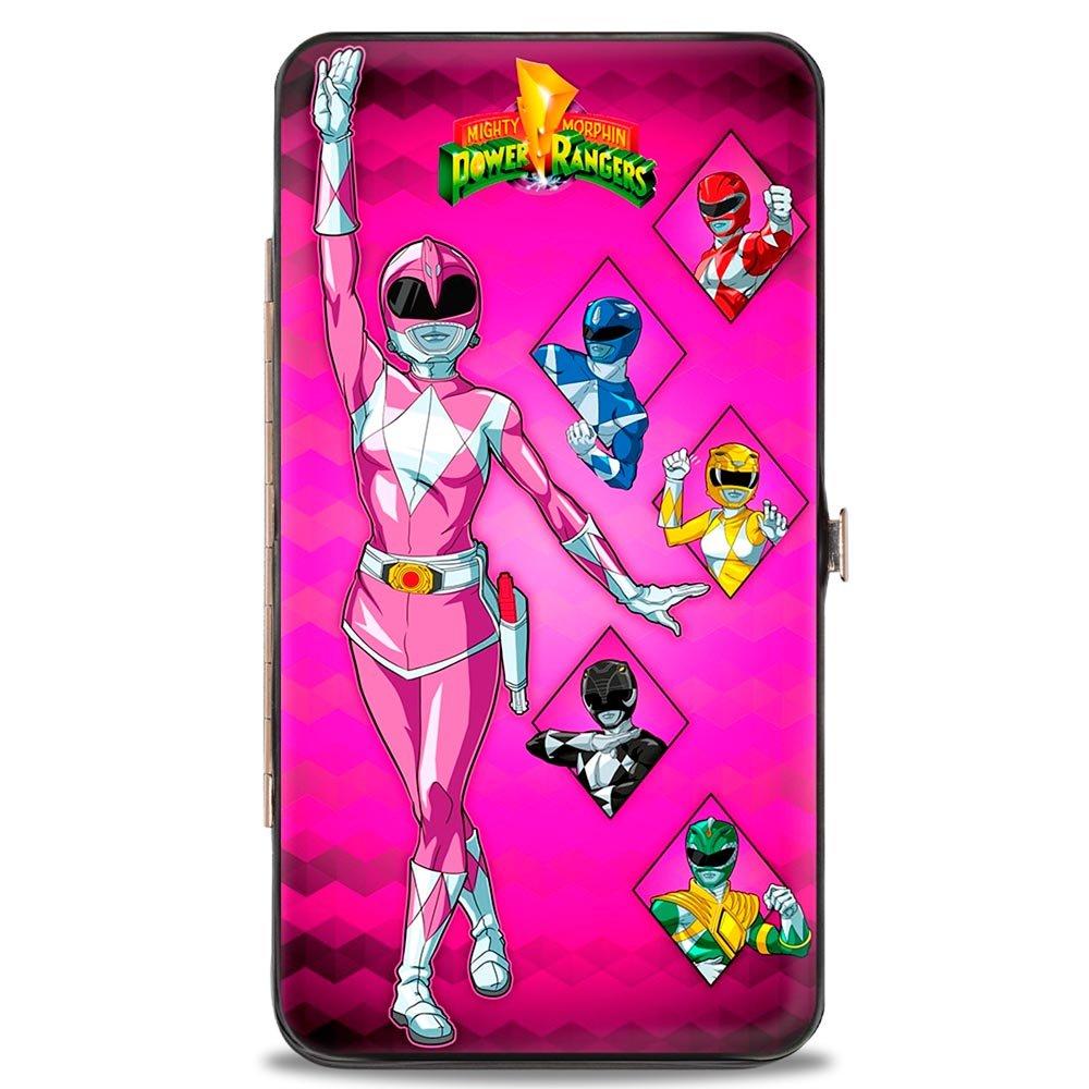 Buckle-Down Buckle-Down Hinge Wallet - Power Rangers Accessory, -Power Rangers, 7 x 4 7 x 4 HW-PRN