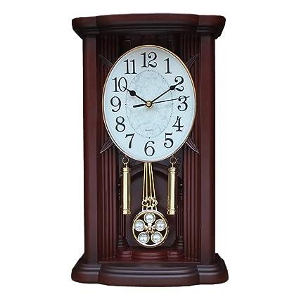 Relojes de mesa Sala de Estar Vintage Decoración Dormitorio Relojes de Escritorio Alarma analógica Reloj de