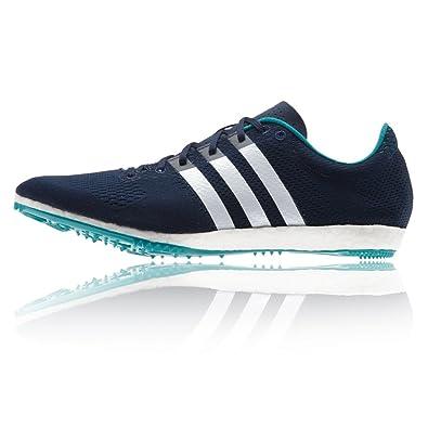 huge discount a4d0b ddbf3 adidas Adizero Avanti Boost Running Spikes - Navy Amazon.co.uk Shoes   Bags