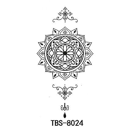 9 piezas etiqueta engomada del tatuaje a prueba de agua pequeñas ...