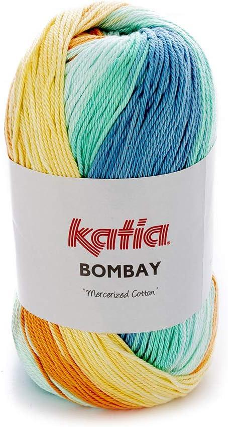 Katia Bombay Color 2032, 100 g algodón Hilo Degradado con algodón para Tejer &: Amazon.es: Juguetes y juegos