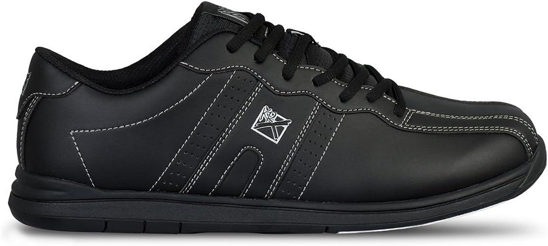KR Strikeforce OPP Black Mens Wide Bowling Shoes