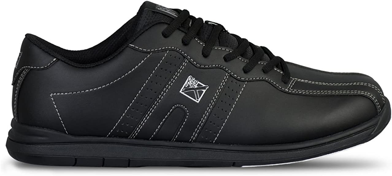 KR Strikeforce OPP Black Men's Bowling Shoes