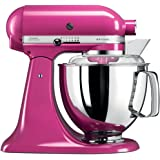 KitchenAid 电动厨房多用机 Artisan,4.8升,紫红色