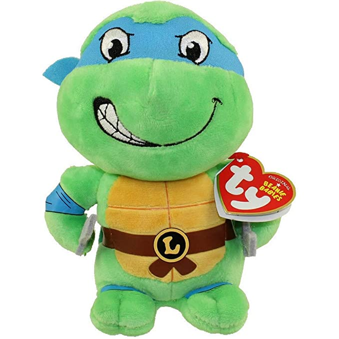 Amazon.com: TY Teenage Mutant Ninja Turtles (Set de 4): Toys ...