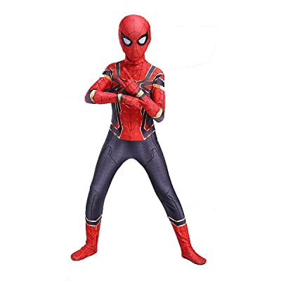 snow flying Kids Halloween Cosplay Costumes Superhero Bodysuit: Clothing