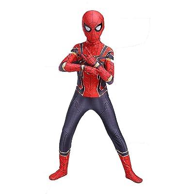 snow flying Kids Halloween Cosplay Costumes Superhero Bodysuit: Clothing [5Bkhe0803670]