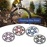 Lixada Bike Cycling Bicycle Floating Disc Rotor MTB Mountain Bike 6 Bolts Disc Brake Rotor 160MM/180MM