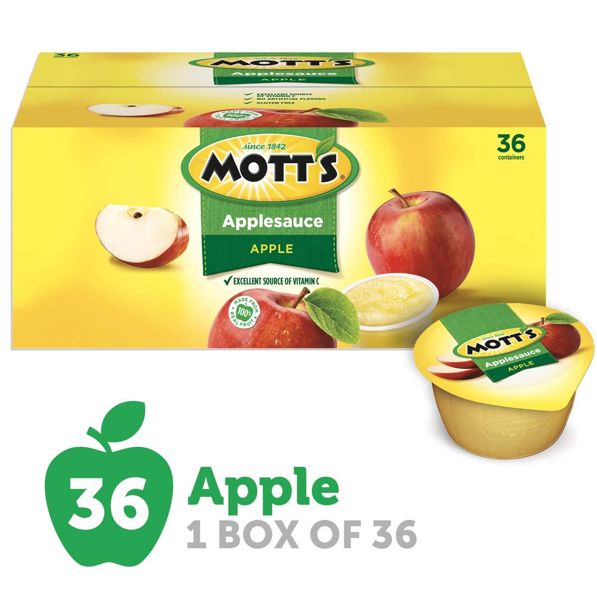 Mott's Applesauce, 4 oz cups, 36 count