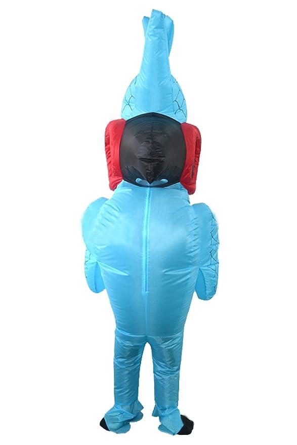 Disfraz de Halloween Inflable de Loro de fantasía para los Adultos ...