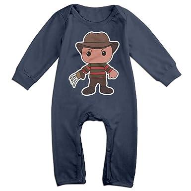 4b765c941 Amazon.com  Infant Freddy Krueger Cute Unisex Baby Onesie Bodysuit ...