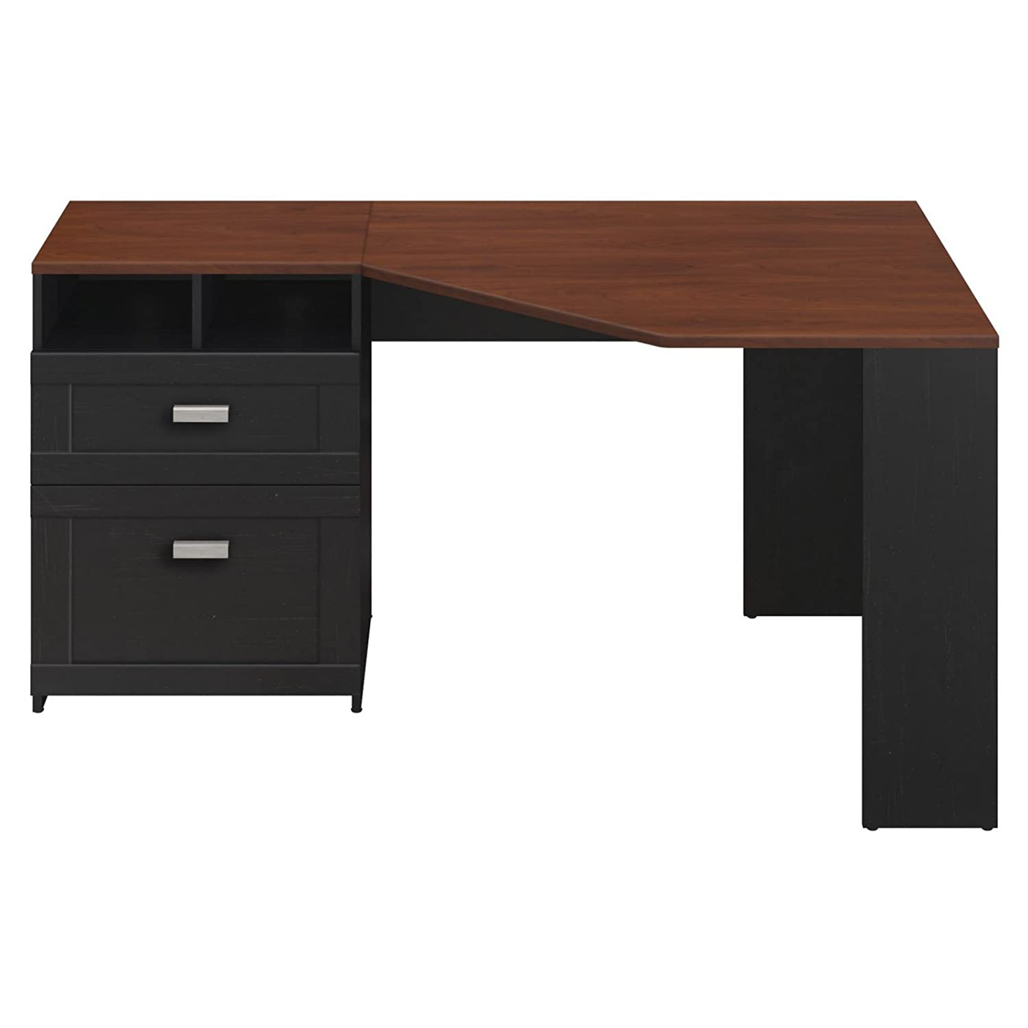 Amazon com  Wheaton Collection Reversible Corner Desk  Kitchen   Dining. Amazon com  Wheaton Collection Reversible Corner Desk  Kitchen