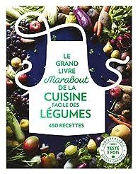 Le grand livre Marabout des légumes : 450 recettes par Jody Vassallo