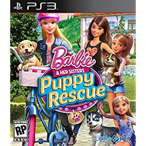 Barbie and Her Sisters: Puppy Rescue PS3 – PlayStation 3