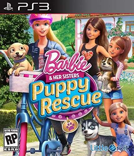 Price comparison product image Barbie and Her Sisters: Puppy Rescue PS3 - PlayStation 3