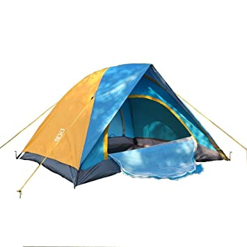 AOTU C&ing Tents 2 People UV Cut Outdoor Beach for Picnic Adjustable pole Simple Tent Easy  sc 1 st  Amazon.com & Amazon.com : AOTU Camping Tents 2 People UV Cut Outdoor Beach for ...