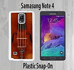 Cello Violin Custom made Case or Cover skin FOR Samsung Galaxy Note 4 White Case iphoneiphone case otterbox