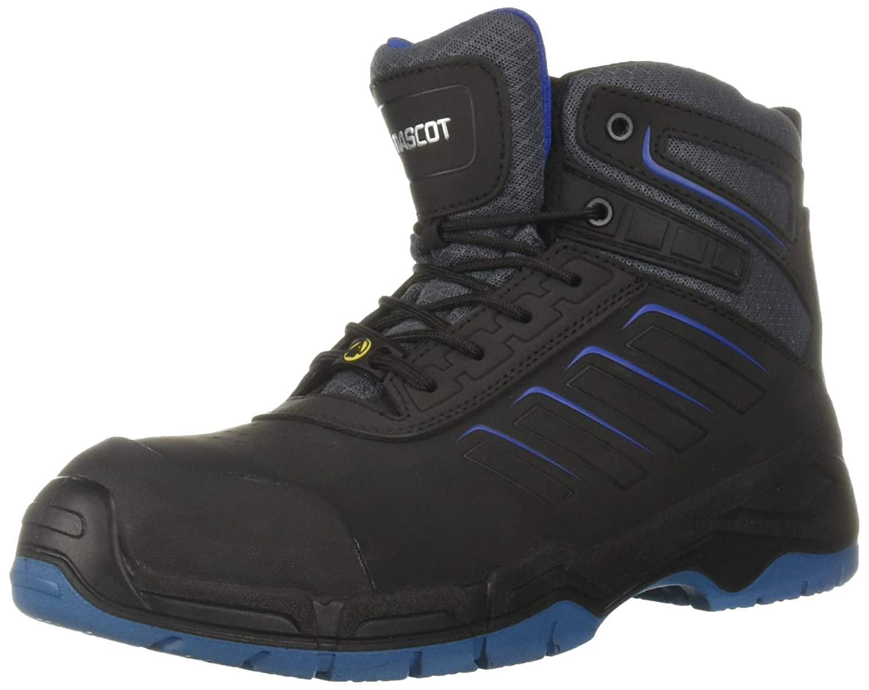 Mascot F0115-937-09140-1139 Diran Safety Shoe, W11/39, Black