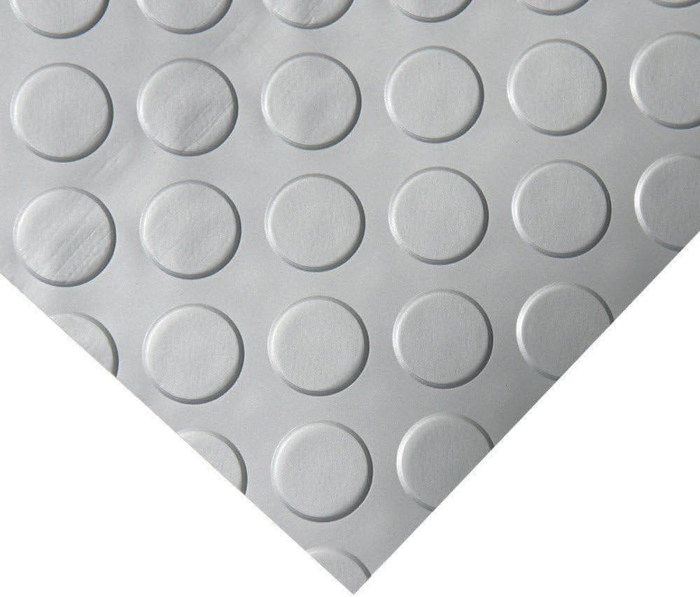 Rollos de moqueta de PVC para pisos de garaje 1,5 mm de espesor sin olor a alfombras de goma gris 1 m de ancho 6 m de largo